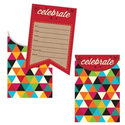 Birthday Kraft Invitations