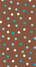 AQUA DOTS GUEST TOWELS