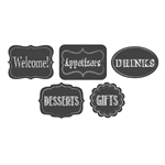 Chalkboard Assorted Cutouts