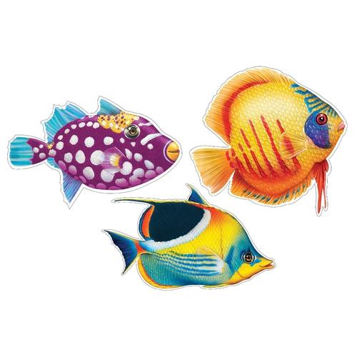 tropical fish cutout