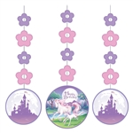 Unicorn Fantasy Printed Hanging Cutouts