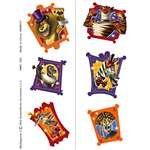 MADAGASCAR 3 TEMPORARY TEMPORARY TATTOOS