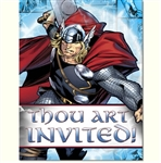Thor Party Invitations