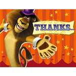 MADAGASCAR 3 THANK YOU NOTES