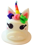 Unicorn Foam Top Hat