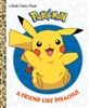 Pokemon A Friend Like Pikachu Little Golden Book