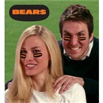Chicago Bears Vinyl Face Decorations