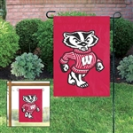 University of Wisconsin - Badgers Mini Garden/Window Flag