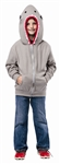 Shark Hoodie Costume Child 4-6
