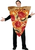 Pizza Slice Get Real Adult Costume