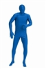 Blue Bodysuit (44-48) Extra Large Adult Costume