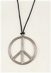 Metal Peace Pendant