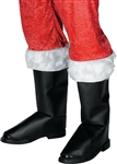 SANTA BOOT TOP WITH TRIM