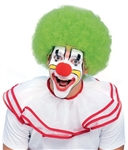 Green Clown / Afro Wig