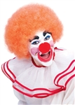 Orange Clown / Afro Wig