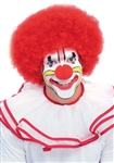 Red Clown / Afro Wig