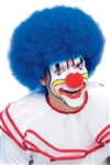 BLUE CLOWN / AFRO WIG