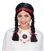 NATIVE AMERICAN FEMALE WIG - BLACK
