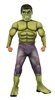 Hulk Deluxe Kid's Costume - Small