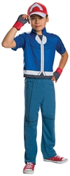 Ash Ketchum Pokemon Deluxe Kid's Small Costume