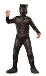 Black Panther Value Kid's Costume - Medium