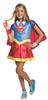 Supergirl DC Hero Girls Dlx Kids Costume - Large