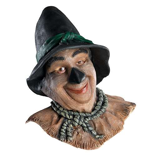 Scarecrow Wizard Of Oz Mask Bartzs Party Stores