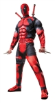 Deadpool Classic Muscle Chest Adult Costume - XL