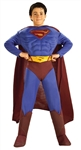 Superman Deluxe Muscle Chest Children's Costume - Small