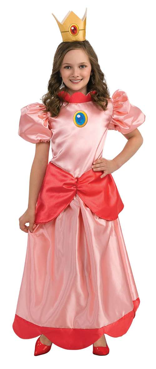 Super Mario Peach Child Costume Bartz S Party Stores