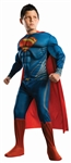 Superman Man of Steel Deluxe Kids Costume Lg