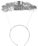 Angel Silver Tinsel Halo