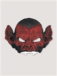 Optic Red Bat Demon Half Mask