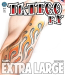 Flames Extra Large Tattoos
