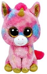 Fantasia Multicolor Unicorn Beanie Boos