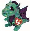 Cinder Green Dragon Beanie Boos