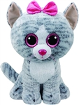 Kiki Grey Cat Large Beanie Boo