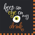 Eye on My Drink Beverage Napkins