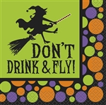 Don't Drink & Fly Beverage Napkins