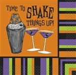 Time to Shake Beverage Napkins