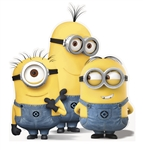 Despicable Me Minions Life Size Stand-Up