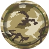 Military Camoflage 7 inch Dessert Plates