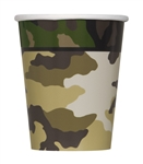 Military Camoflage 9oz Cups