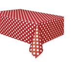 Red Dots Tablecover 54In X 108In
