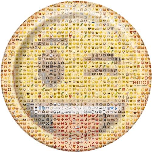 Emoji 9 inch Dinner Plates  sc 1 st  Bartz\u0027s & Emoji 9 inch Dinner Plates - Bartz\u0027s Party Stores
