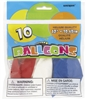Red, White, and Blue Balloon 10 Pack