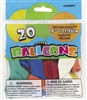 Standard Assorted 9in 20 Count Latex Balloons