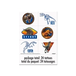 Jurassic World 2 Temporary Tattoos Favors