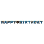 Jurassic Park 2 Jointed Birthday Banner