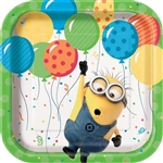 Despicable Me Minion Made 7 Inch Party Plates